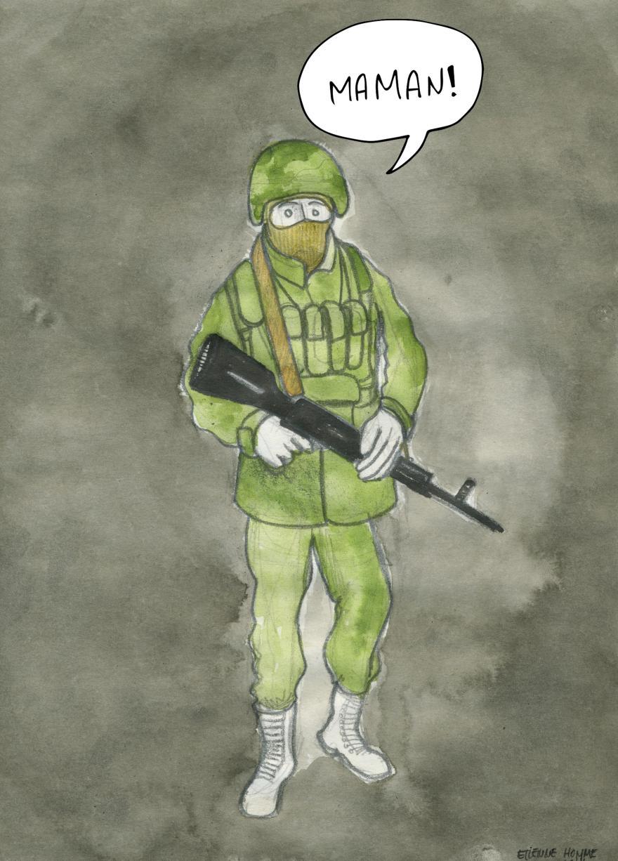 Paramilitaire - maman petit